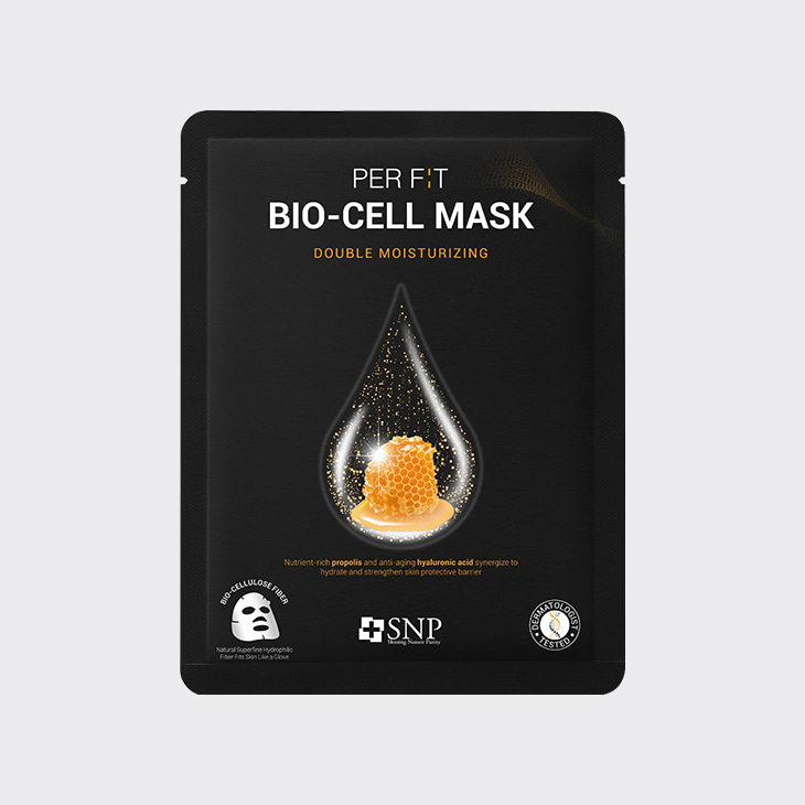 SNP Perfit Bio-Cell Mask Double Moisturizing,K Beauty