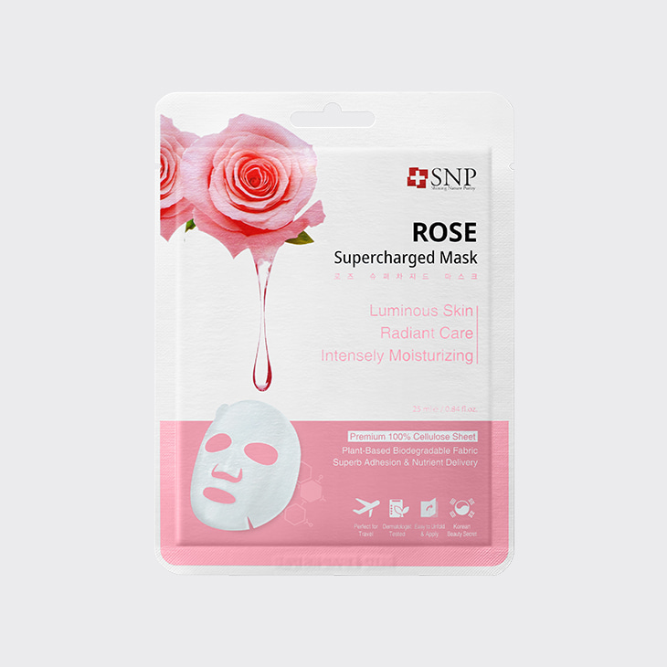 SNP Rose Supercharged Mask,K Beauty