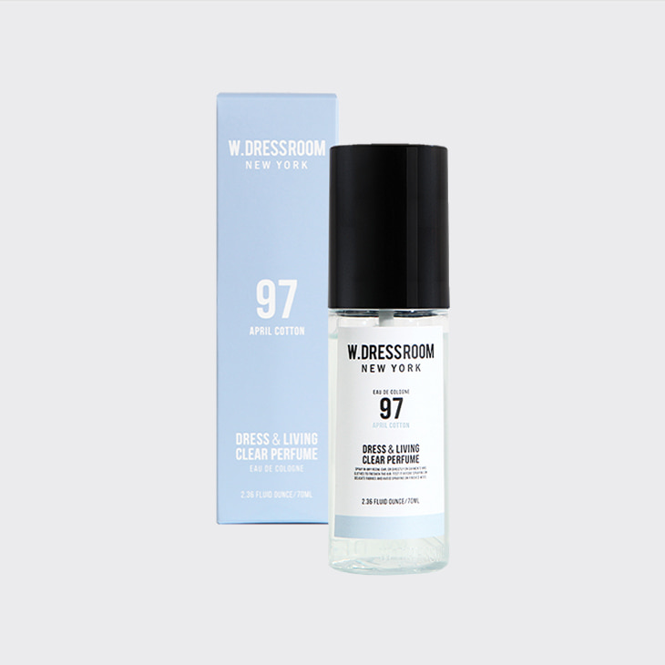 W.DRESSROOM Dress&Living Clear Perfume 70ml No.97 April Cotton,K Beauty