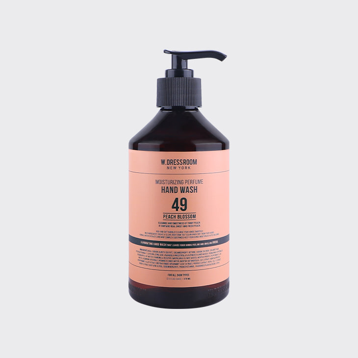 W.DRESSROOM Moisturizing Perfume Hand Wash No.49 Peach Blossom,K Beauty