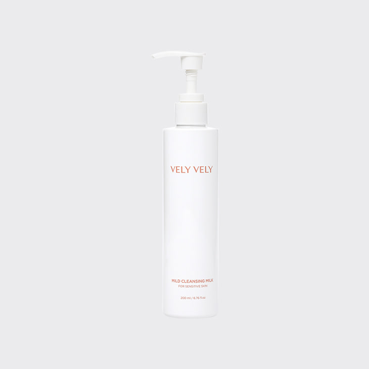 VELYVELY Mild Cleansing Milk,K Beauty