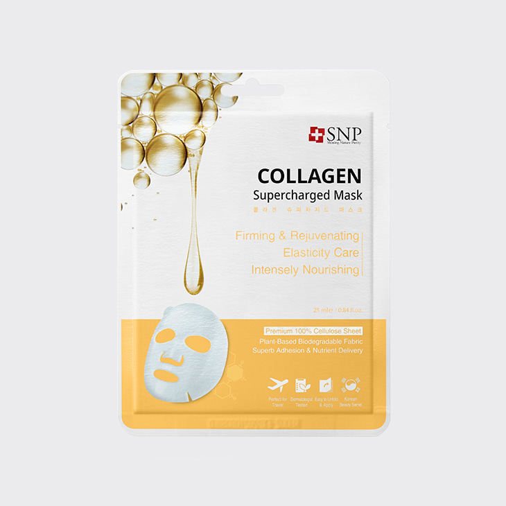 SNP Collagen Supercharged Mask,K Beauty