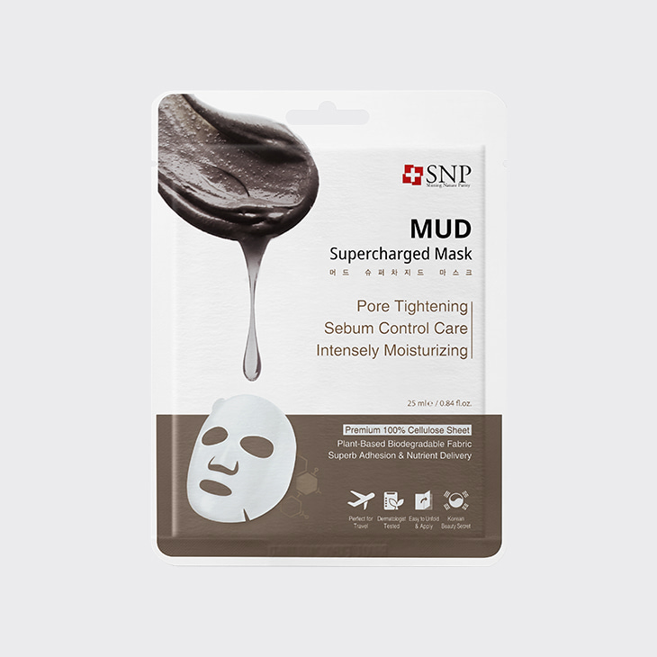 SNP Mud Supercharged Mask,K Beauty